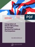 Integration of Ethnic Minorities in Georgia