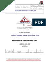 HS-HOO-TP-120017-HSE-PL-03 ENVIRONMENT MANAGEMENT PLAN