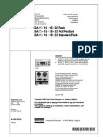 2930120502 Parts list GA11-22 (serial # AII 217 792)