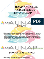 AUTORIDAD NACIONAL DE ACUICULTURA Y PESCA-AUNAP
