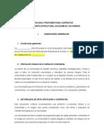 INVITACIÓN A CONTRATAR S