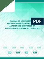 Manual de Normalização para elaboração de trabalhos Acadêmicos-Cientificos no âmbito da UFT.pdf