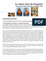 Pour la Paix et les Âmes du Purgatoire