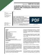 NBR IEC 00050 - Vocabulário eletrotécnico internacional - Capítulo 826 Instalações elétricas em edificações