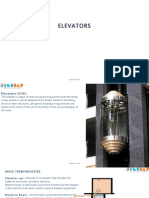 Elevator Building services (b.arch)
