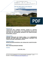 INFORME DE SUELOS SANTARIANI
