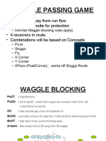 WAGGLE PASSING GAME