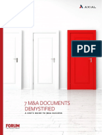 Axial - 7 MA Documents Demystified