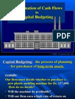 Cash flows for Investment Decision