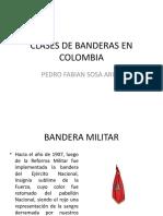 CLASES DE BANDERAS EN COLOMBIA