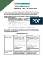 Piano Emergenza COVID-19 - Fase 4 (autunno 2020) def