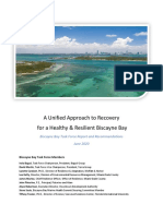 Biscayne Bay Task Force Report and Recommendations June 2020