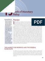 "Chapters 15&16 - Mishkin ""The Economics of Money"""