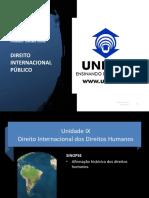 DI 30 -Direito Internacional dos DH I - Afirmacao historica