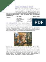 LA PINTURA INDEGINISTA DEL PERU