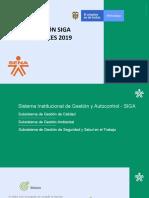 Inducción SIGA Administrativos 2019 -ACTUALIZADA