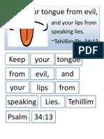 Tehillim 34 13