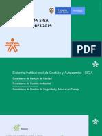 Inducción SIGA INSTRUCTORES 2019 -ACTUALIZADA