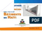 GUIDE PRATIQUE DE PREPARATION DE PETITS BATIMENTS EN HAITI (MTPTC) _18JAN11