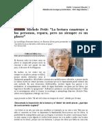 Entrevista a Michele Petit
