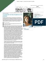 Página_12 __ Dialogos __ La irrupción de las mujeres en la política