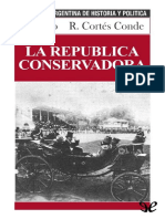 GALLO CORTES CONDE Roberto La republica conservadora.pdf · versión 1