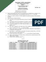 MSc Mathematics_Part-I_Part-II
