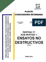 U-31000 ENSAYOS NO DESTRUCTIVOS PARTIDA 7 SUB-PARTIDA 1 RAGAR