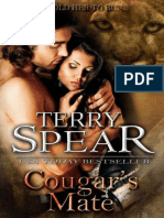 Terry Spear - [Heart of the Cougar 01] - Cougar's Mate