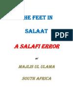 The Feet in Salah a Salafi Error