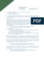 Accontancy 1st unit test 2020-21