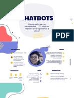 El Rol de Los Chatbots en La Experiencia Al Cliente