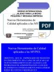 NUEVAS HERRAMIENTAS DE CALIDAD APLICADAS A LAS MYPES