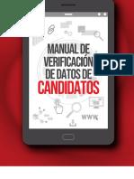 Manual de verificación de datos de candidatos