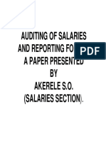 AUDITING OF SALARIES AND REPORTING FORMAT IMAGE