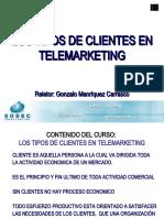 Presentación Tipos de clientes en Telemerketing