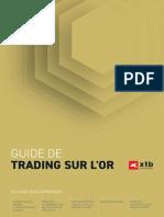 Guide de trading sur l'or - XTB - Copie