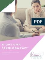 Ebook - O que uma sexóloga faz?