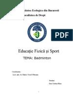 Dan Cristina Eliza - educatie fizica si sport, an II, sme 2