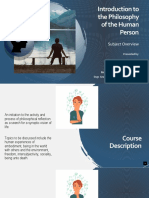 Introduction to the Philosophy of the Human Person - Subject Overview.pptx