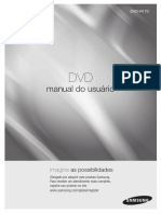 manual gravador de dvd r170 sansung