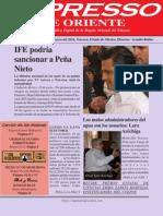 Expresso de Oriente 24 Enero 2011