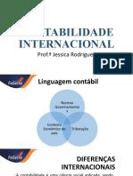 CONTABILIDADE INTERNACIONAL_Aula 2_Contexto internacional, Surgimento das instituições