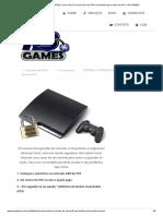[PS3][TUTORIAL] Como salvar os saves de seu PS3 ou transferir para outro Usuário – NS GAMES