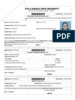 NSOU _ Renewal _ Studentship Certificate
