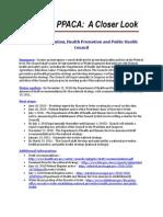 Health Prevention Council Progress