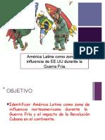 La Guerra Fría en América Latina