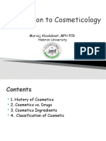 Introduction to Cosmeticology.pptx