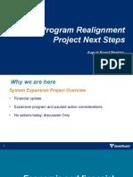 Sound Transit - Capital Program Realignment Project Next Steps - 8-27-2020