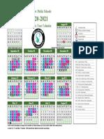 school-year-calendar-2020-2021 cohort